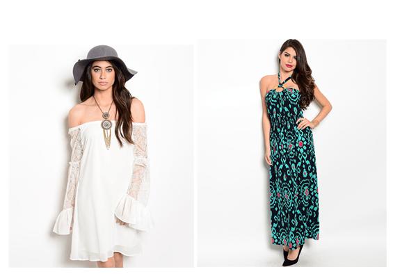 boho trend 2015 - Flowy silhouettes dresses