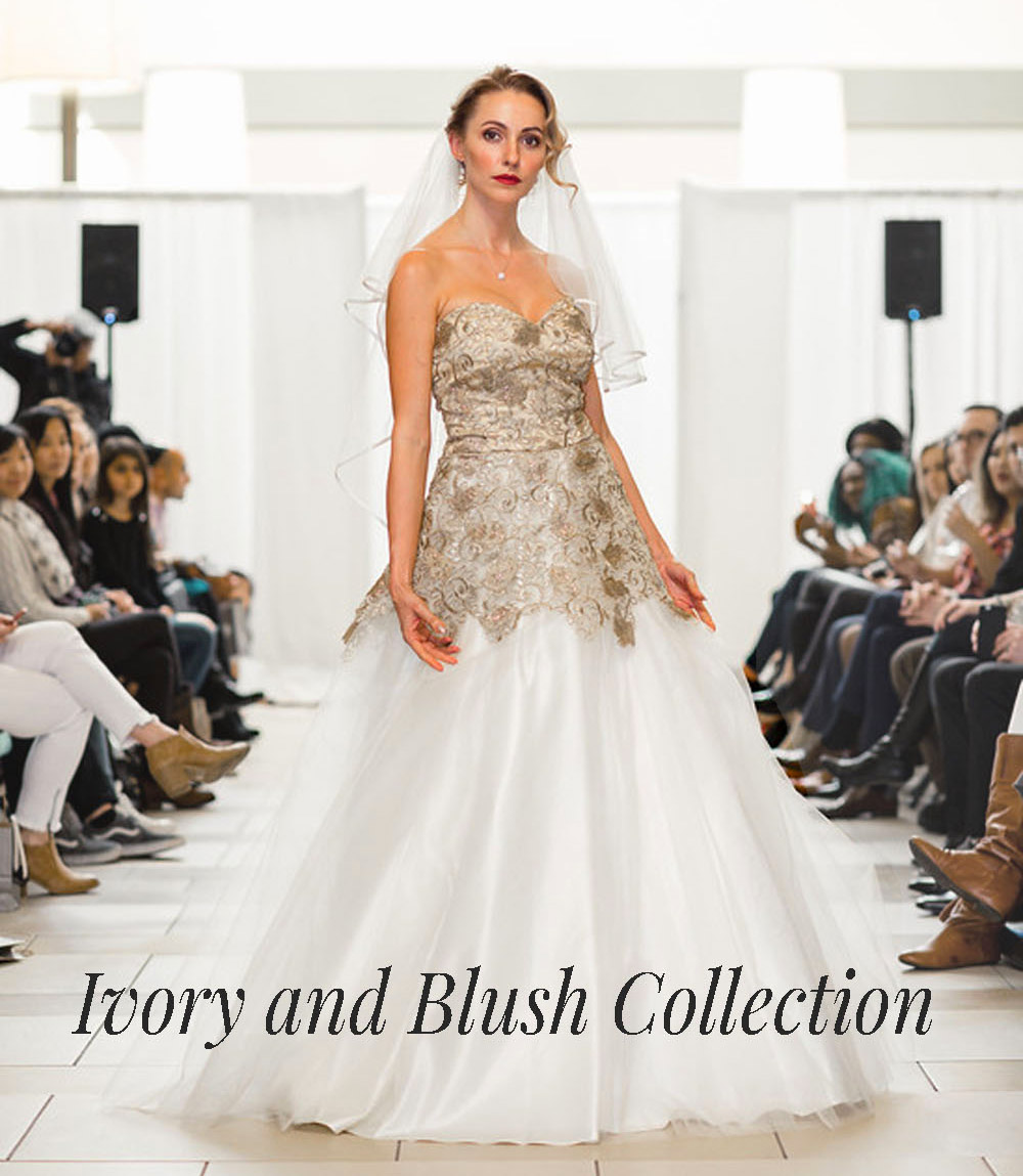 Bridal Collection Ivory Designer Gown Bellevue