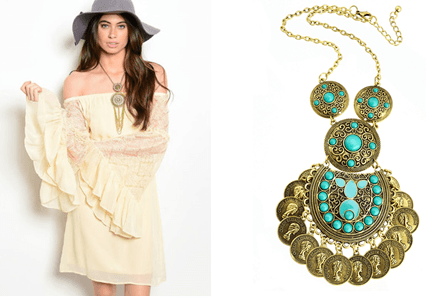carefree and relaxed trend of Bohemian look this season - 2015