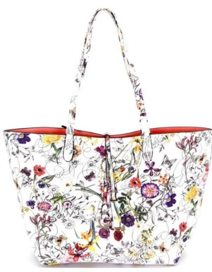 Designer floral print purse seattle fashion custom dress seattle boutique