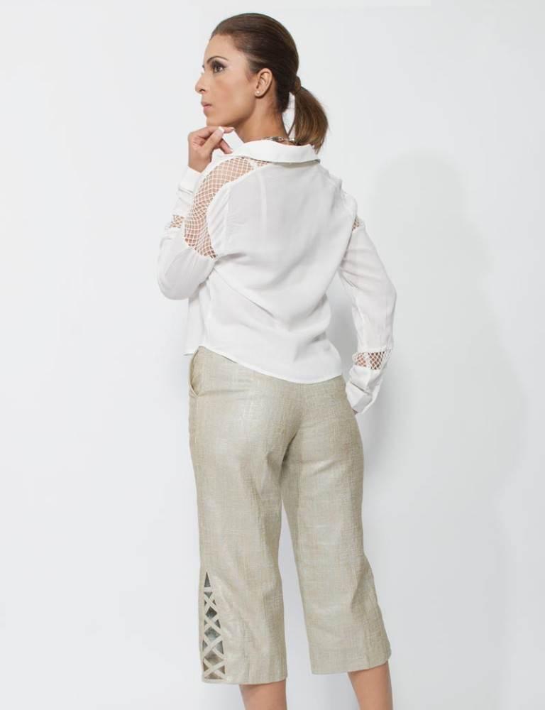 linen trendy pants