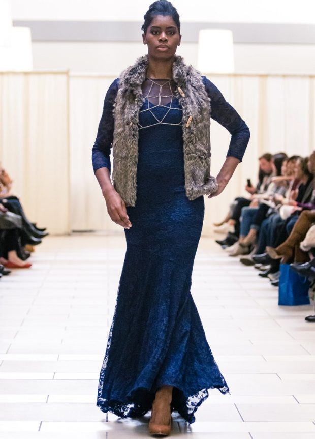 blue lace gown-brocade-designer-fashion-seattle-boutique prom dress