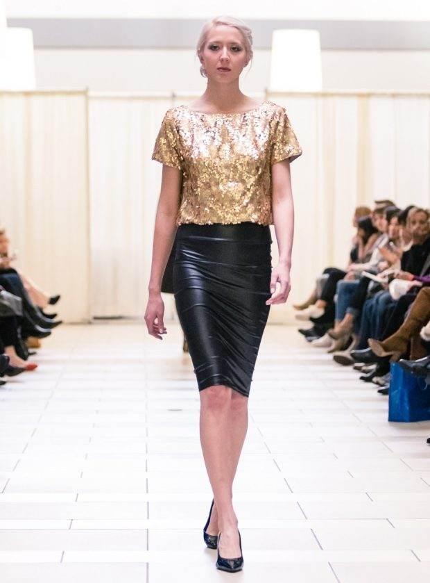 gold sequin designer top bellevue shopping seattle fashion boutique