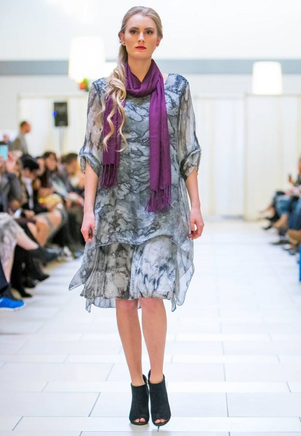 italian-designer-silk-grey-dress-online-shop seattle fashion