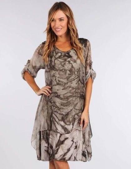 silk chiffon designer dress