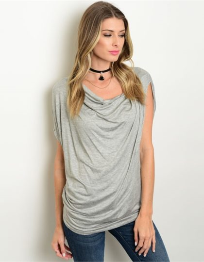 grey heather women's designer top bellevue boutique seattle fashion
