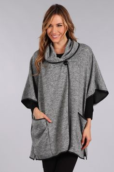 designer fashion womens grey jacket seattle fashion 2