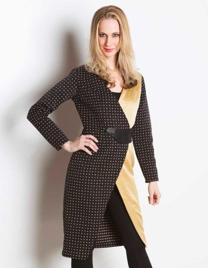 women's designer black gold jacket seattle fashion bellevue boutique