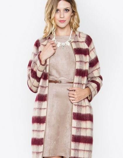 designer white women's plaid jacket seattle fashion bellevue boutique