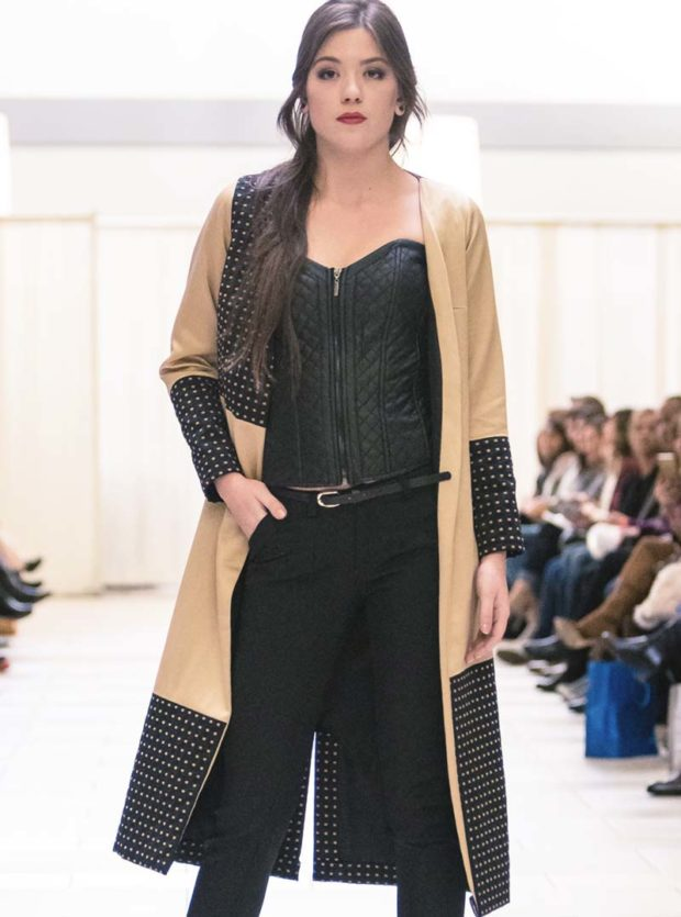 women's designer black gold jacket seattle fashion bellevue boutique