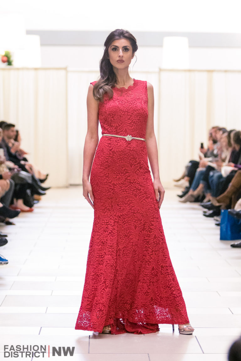 red designer gown red carpet prom dress