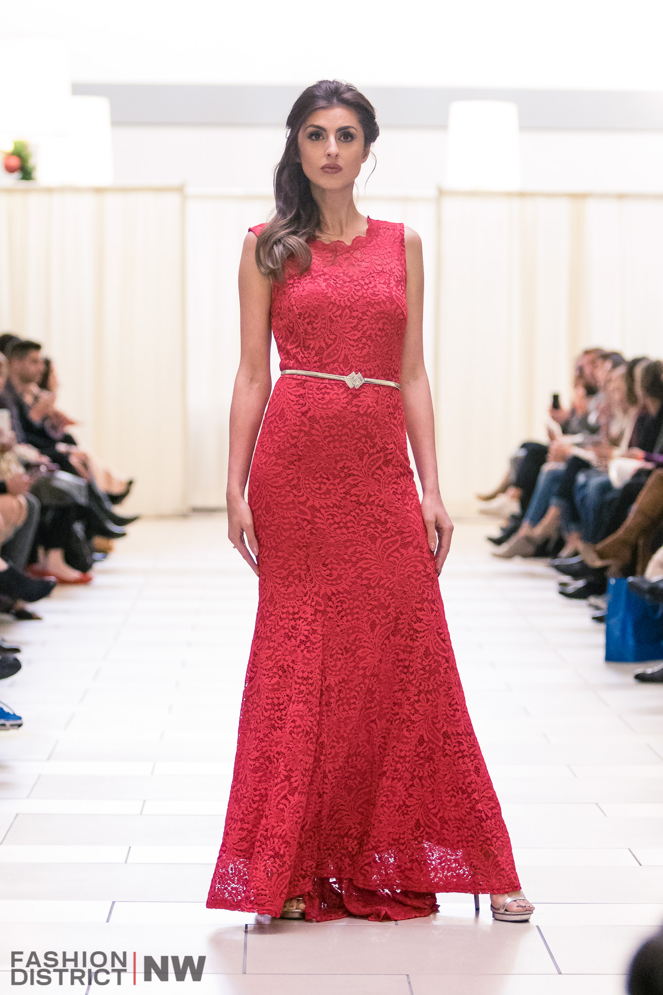 Buy Designer Red Lace Designer Gown For Women Online - Kahini Fashion