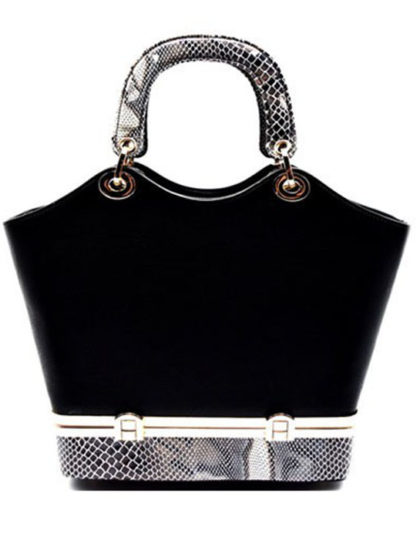black-designer-animal-print-purse-online-boutique
