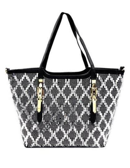 black-designer-silver-sequin-mirror-purse-bag-online-boutique