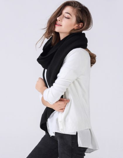 black designer wool scarf seattle fashion bellevue online boutique