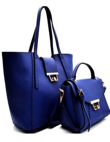 blue-faux-leather-trendy-purse-bag-online-boutique seattle fashion