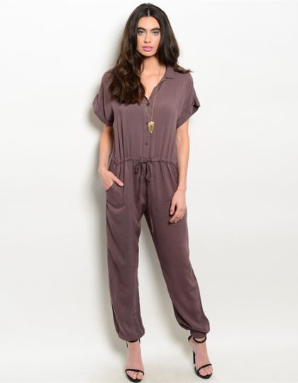 online-brown-designer-jumpsuit-seattle-fashion-bellevue-shopping-boutique