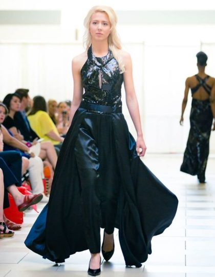 black-sequin-designer-gown-shop-seattle-fashion-boutique