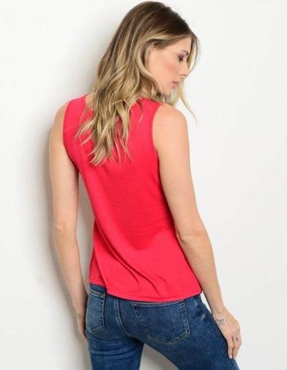 red sequin designer party top seattle bellevue fashion boutique