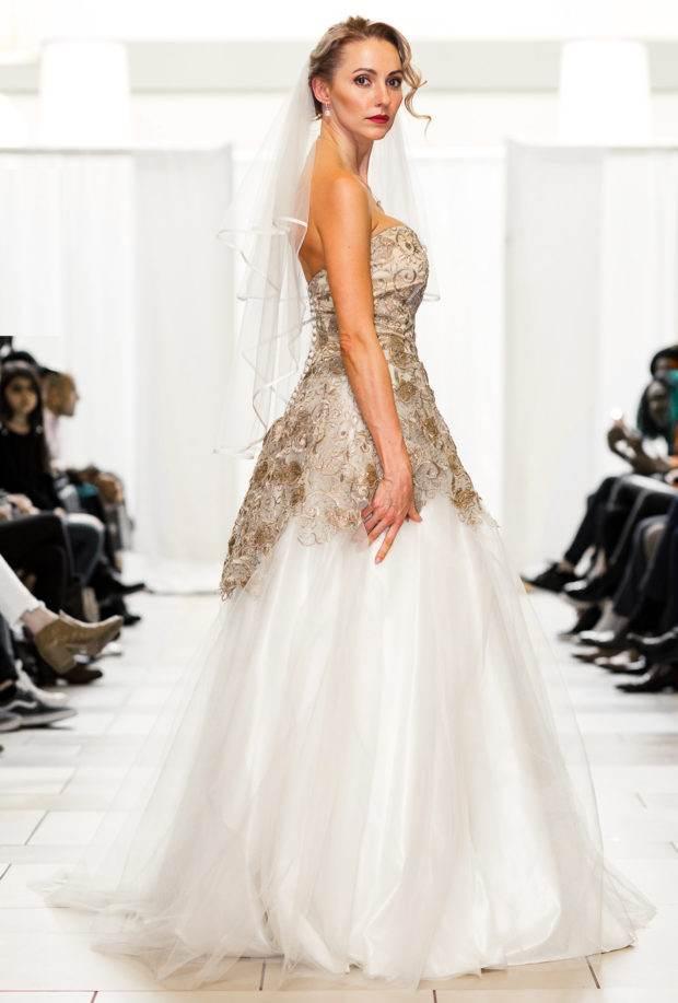 Designer Ivory Princess Wedding Dress