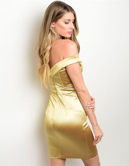 DESIGNER fashion seattle boutique gold cocktail pink prom dress