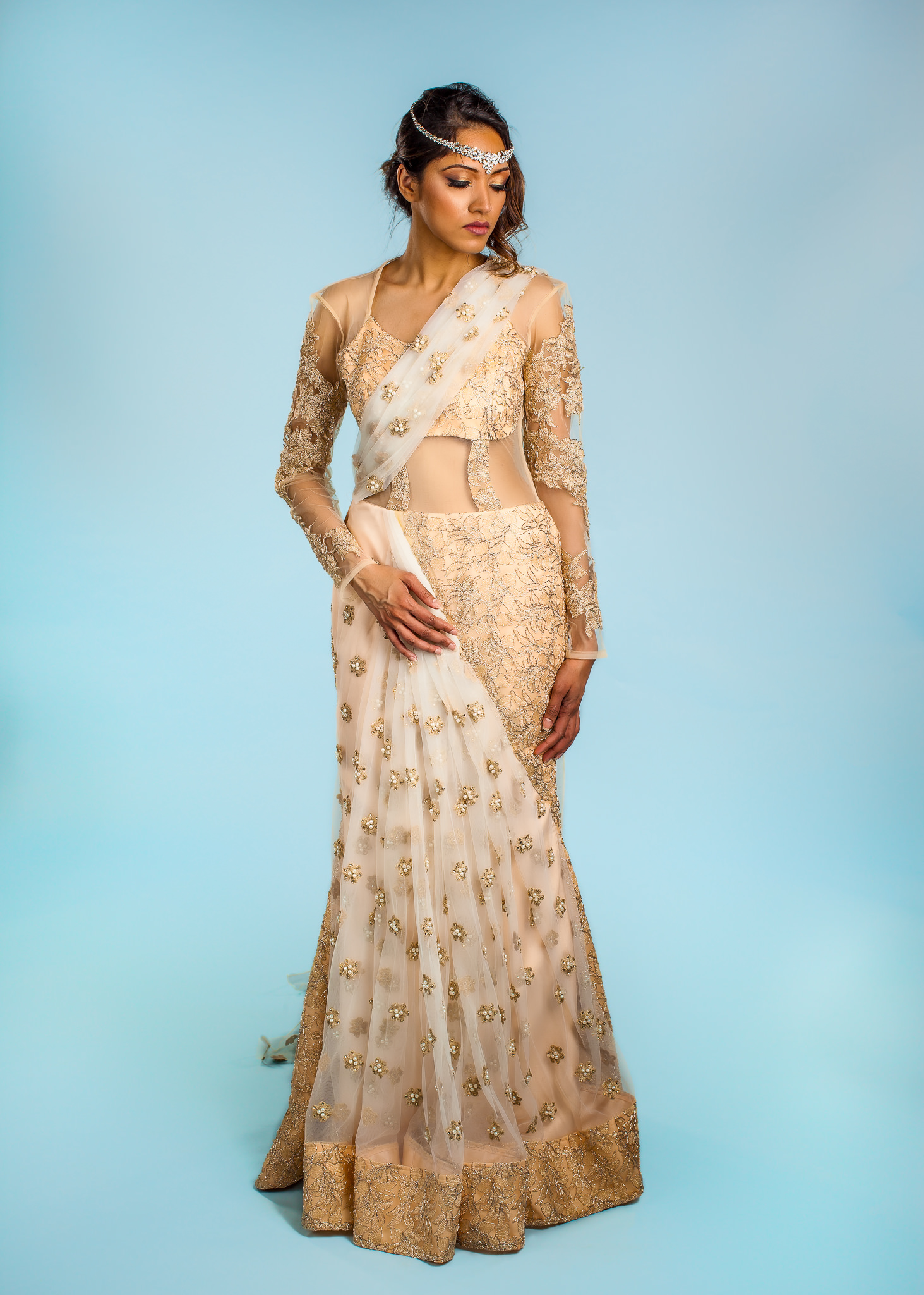 Buy Designer Fiona Indian Wedding Gown For Women Online - Kahini Fashion