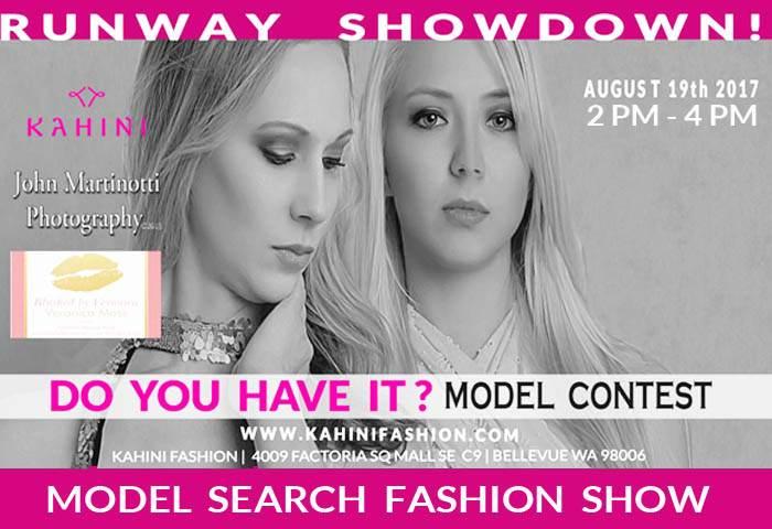 Bellevue Model Search Fashion Show Boutique