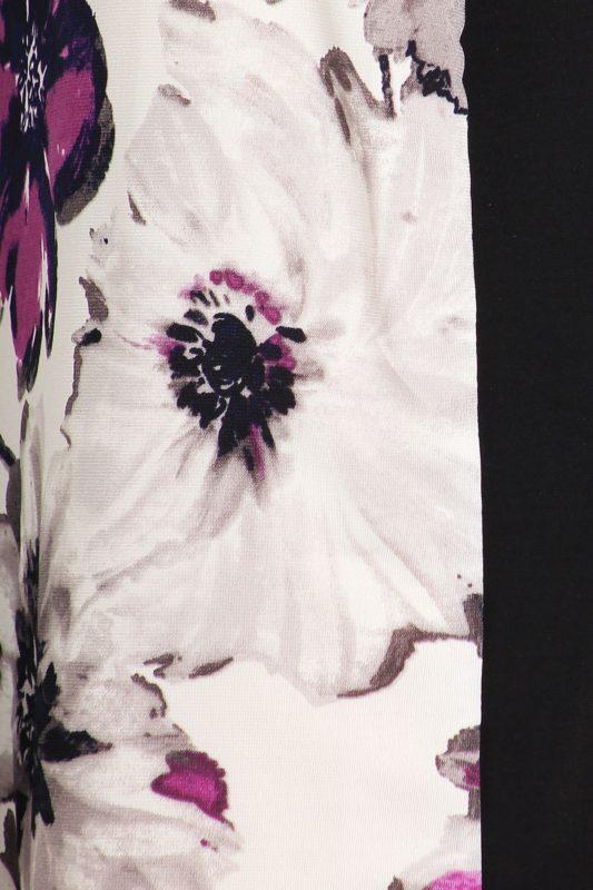 Black Floral Cocktail Dress Designer Boutique Bellevue Seattle Shop Fashion