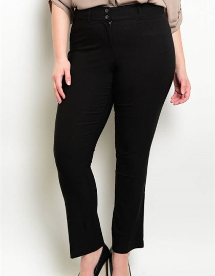 black bellevue boutique seattle fashion designer plus size pants