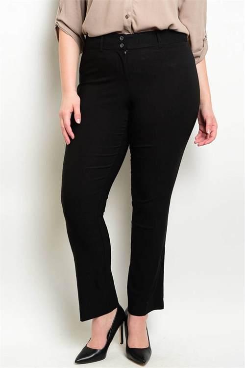 black bellevue boutique seattle fashion designer plus size pants