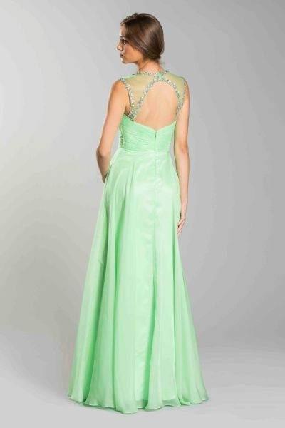 Green Ball Gown Designer Long Dress Seattle Bellevue Prom Designer