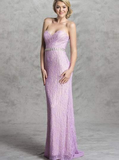 Sexy lace bridesmaid prom dress Lavendar bellevue seattle boutique