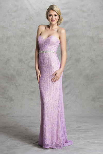 Sexy lace bridesmaid prom dress Lavendar bellevue seattle boutique