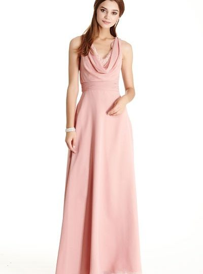 Dusty Rose Long Bridesmaid Dress Seattle Fashion Boutique Bellevue Shopping