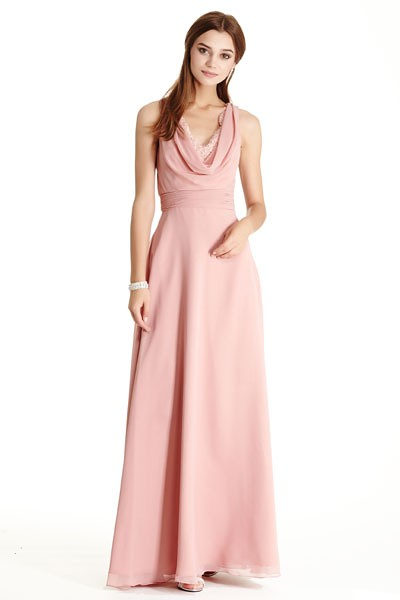 b3cb923b89f9 Dusty Rose Long Bridesmaid Dress Seattle Fashion Boutique Bellevue Shopping