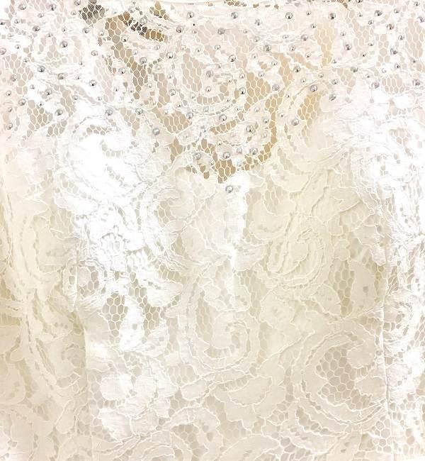 Ivory white bridal lace wedding dress boutique seattle