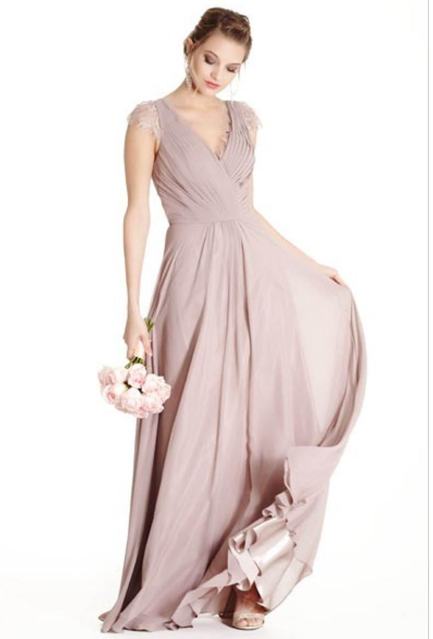 Buy Designer Mauve Lace Back Long Dress For Women Online - Kahini ...