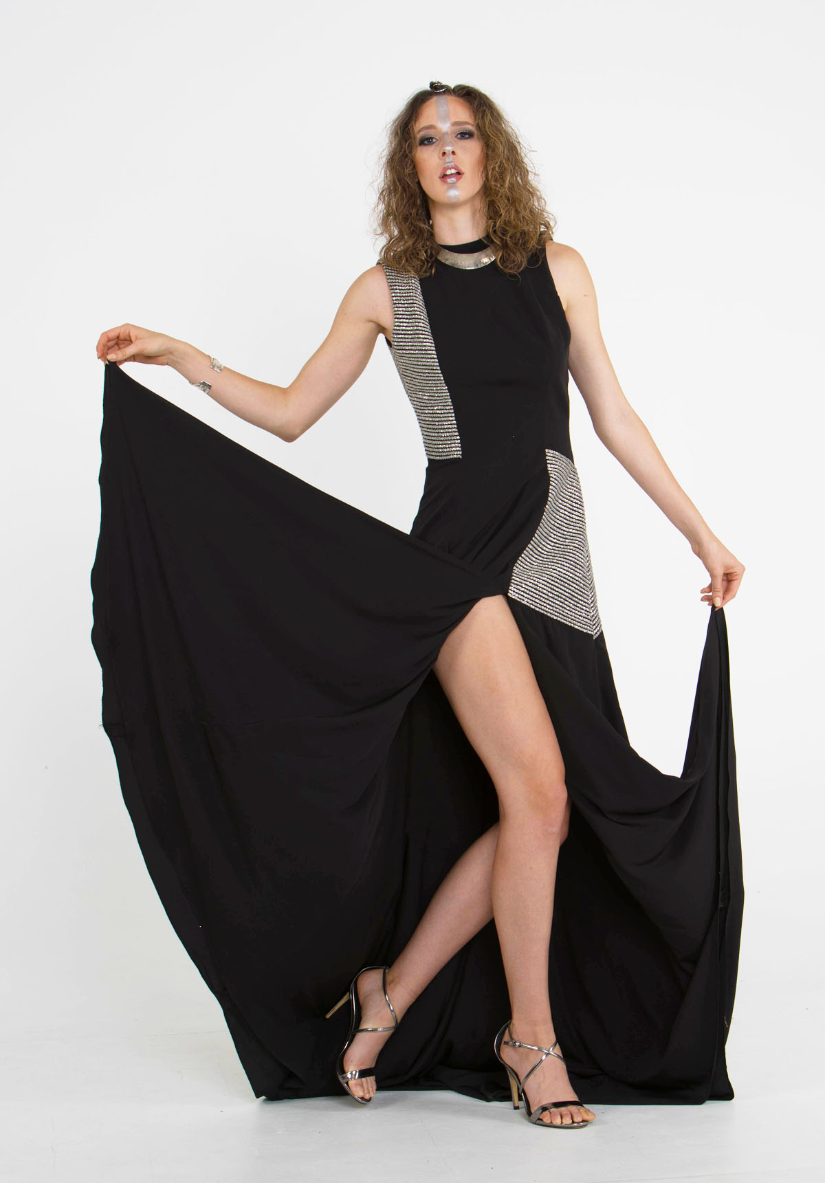 Jessica Black long designer Dress seattle fashion