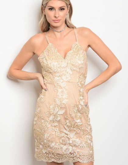 beige champagne gold party dress bellevue seattle designer boutiques