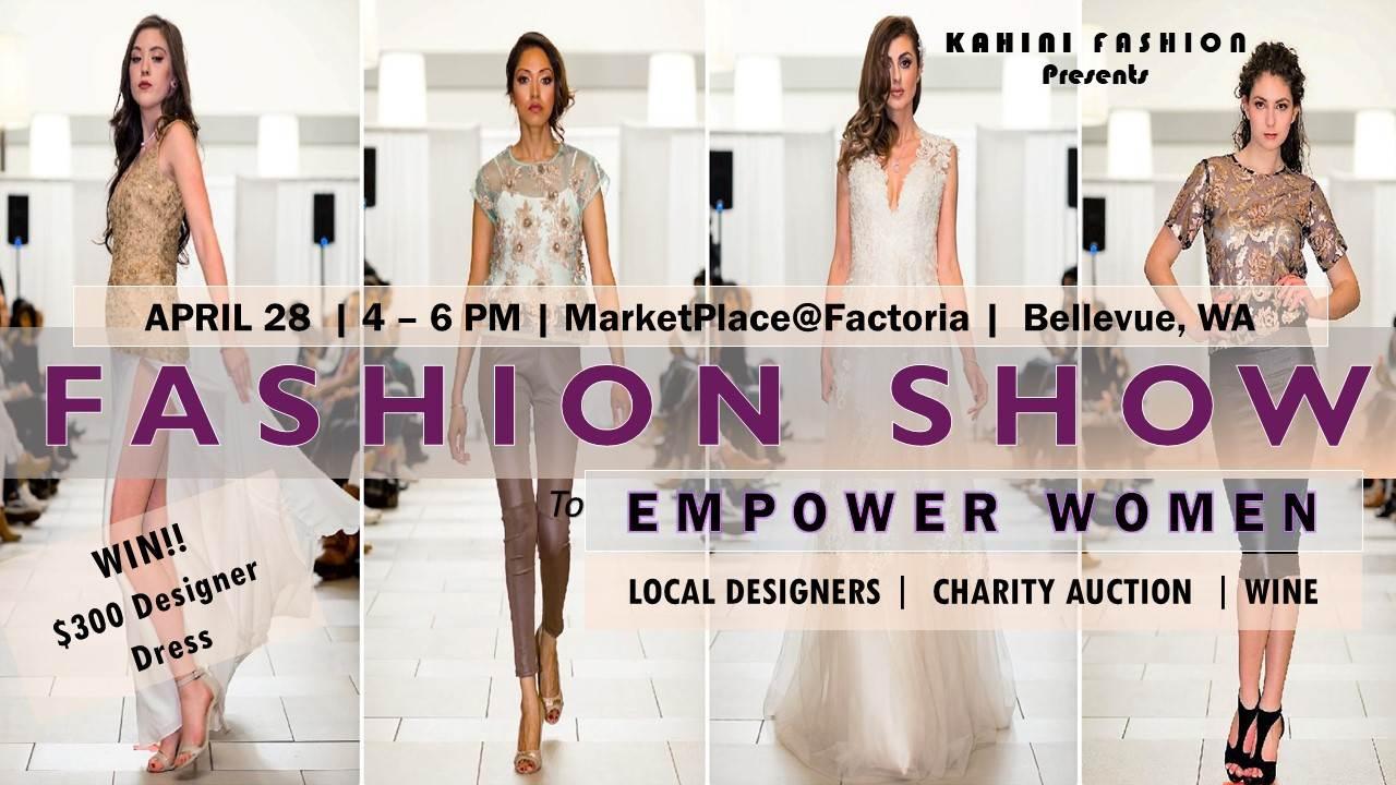 Fashion Show Bellevue Seattle Couture Trend