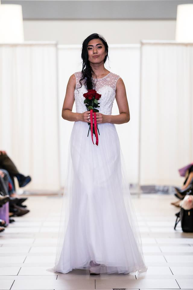 alfred angelo beaded bodice front
