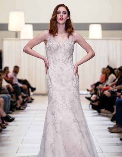 alfred angelo champagne beaded