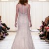 alfred angelo champagne beaded BACK