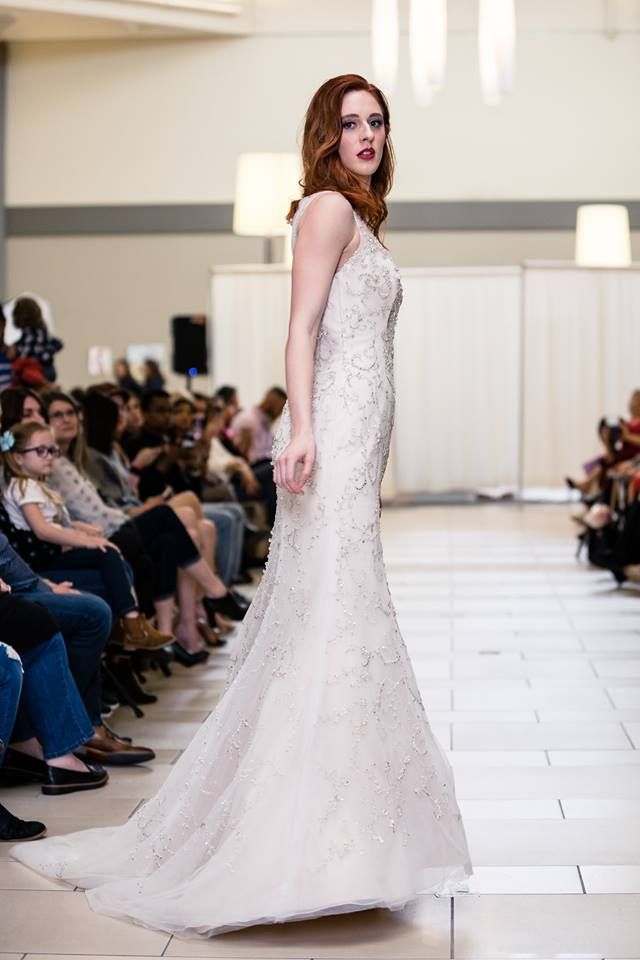 lfred angelo champagne beaded side