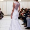 alfred angelo lace open-back side