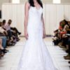 alfred angelo lace rim full skirt