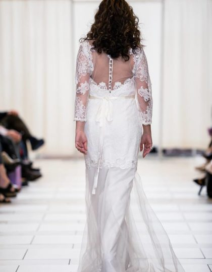 alfred angelo mermaid front back