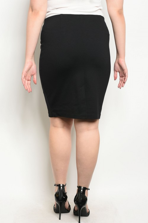 classy pencil skirt back