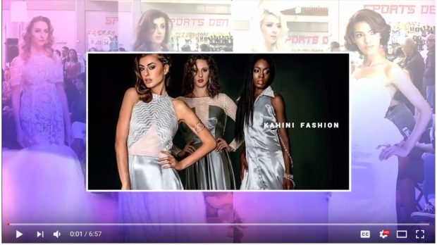 KAHINI Fashion boutique runway designer fashion video