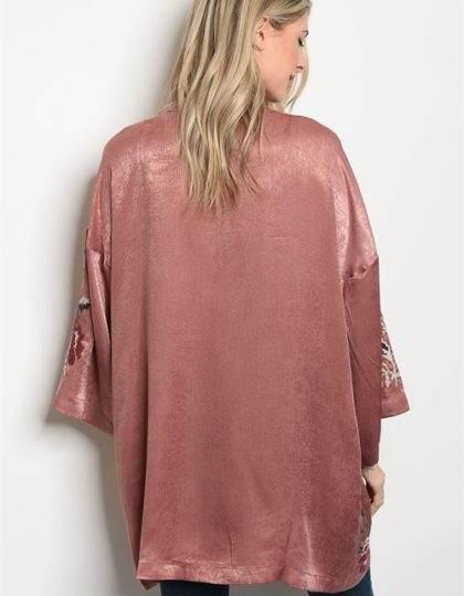 mauve kimono back